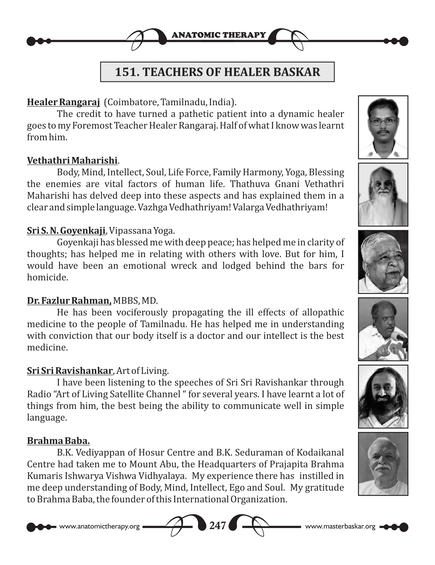 151. TEACHERS OF HEALER BASKAR - fresh2refresh.com