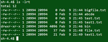 UNIX command
