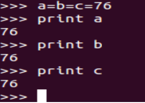 print multiple variables python